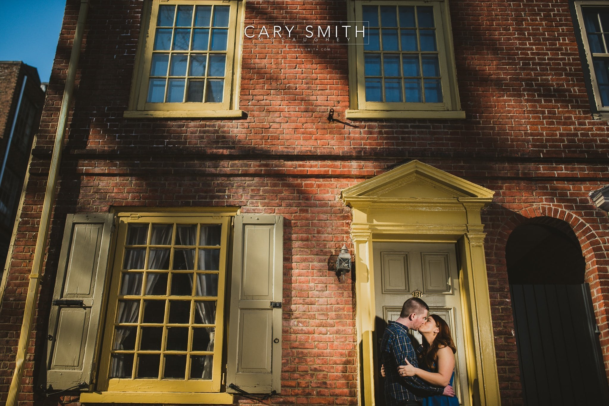 Old City Engagement Session | Maura & Colin
