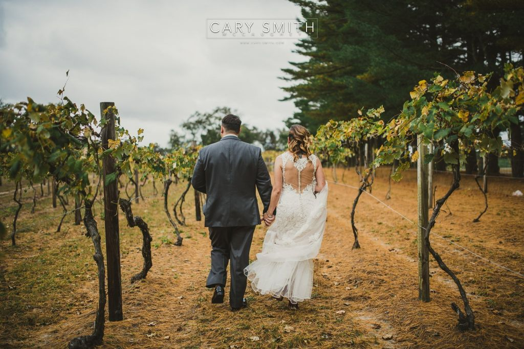 Renault Winery Wedding | Kelly & Dan