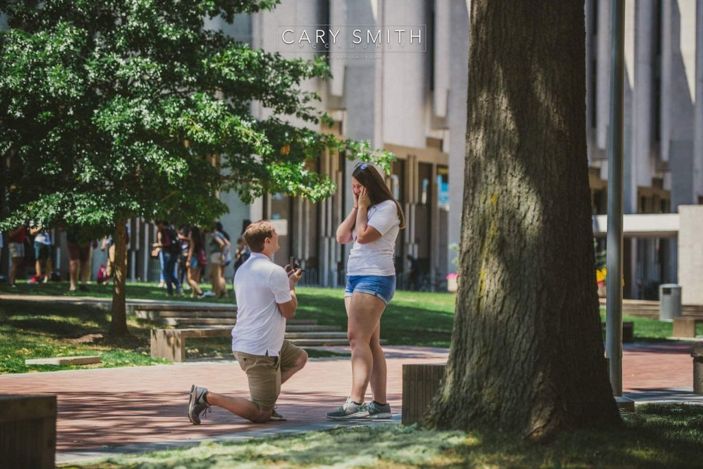 Philadelphia Proposal Photography | Dave and Rachael