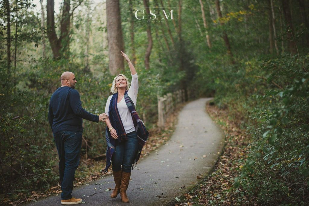 Caitie & Josh | Downingtown Engagement Session