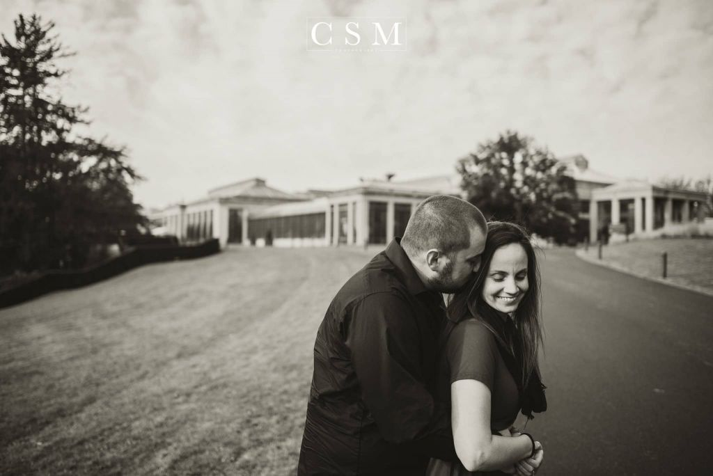 Longwood Gardens Engagement Session – Kelsey + Chris