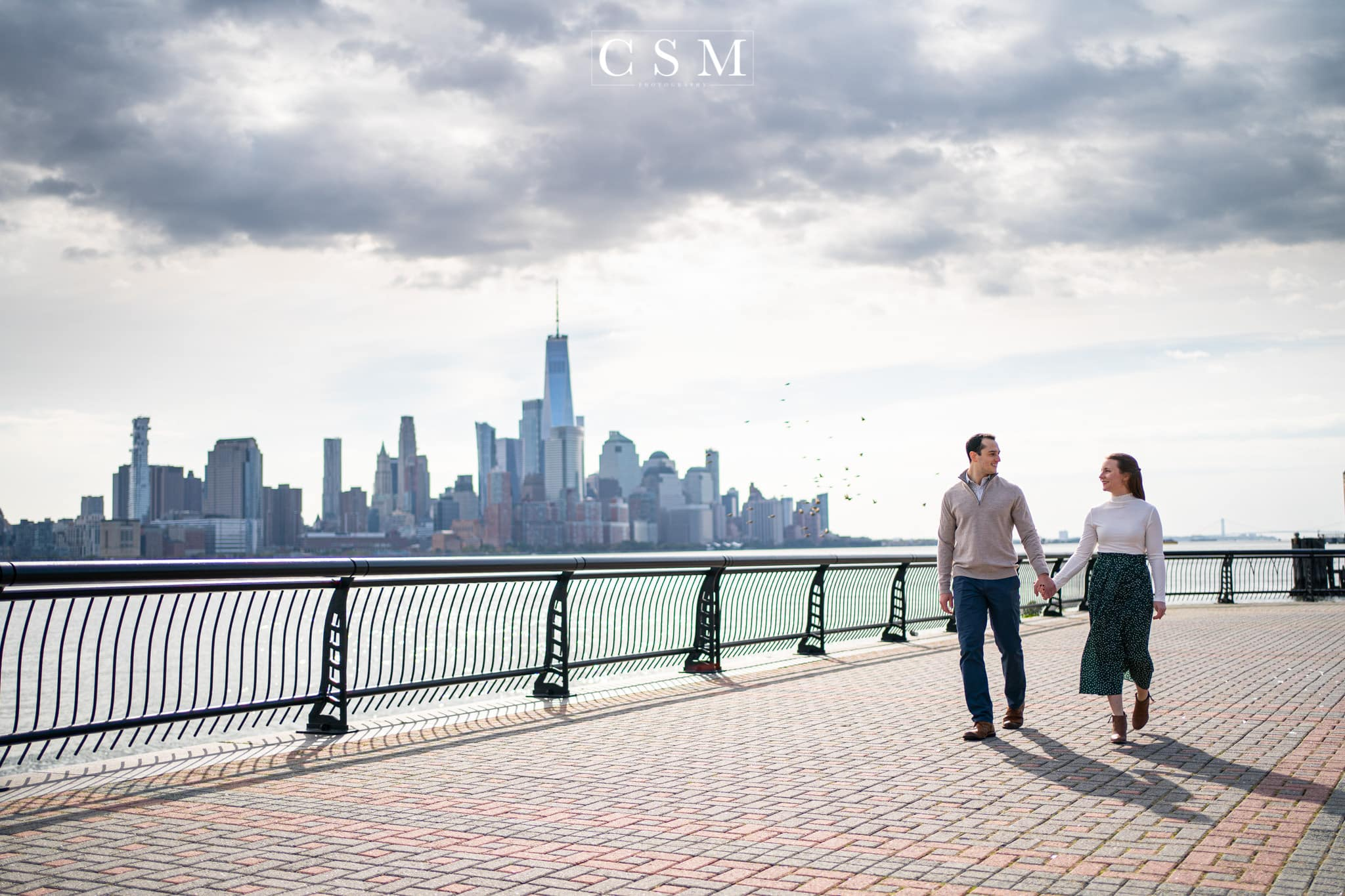 Hoboken Engagement Session by Chester County Photographer CSM Photography
